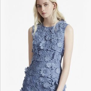French Connection 3D Flower Lace Dress